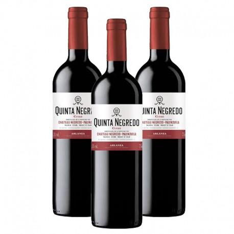 Quinta Negredo vino tinto Cuvee 2014 Caja 3 botellas 75 cl.