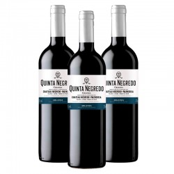 Quinta Negredo vino tinto crianza 2014 Caja 3 botellas 75 cl.