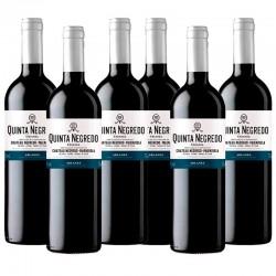 Quinta Negredo vino tinto crianza 2014  Caja 6 botellas 75 cl.