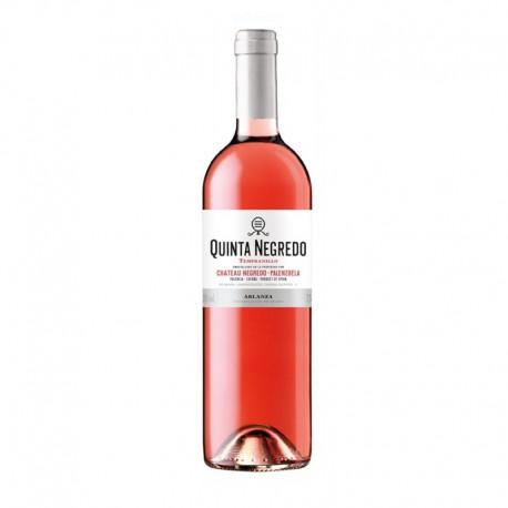 Quinta Negredo vino rosado 2015 Botella 75 cl.