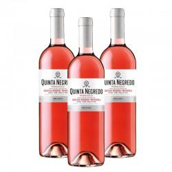 Quinta Negredo vino rosado 2015 Caja 3 botellas 75 cl.
