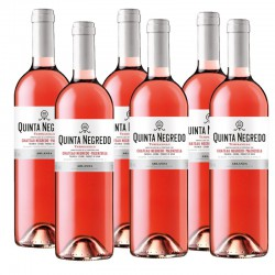 Quinta Negredo vino rosado 2015 Caja 6 botellas 75 cl.