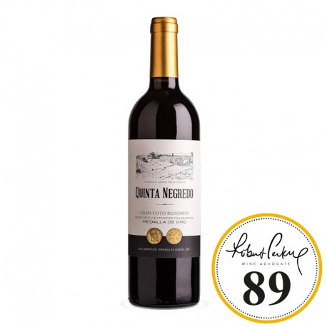 Quinta Negredo Coto Redondo vino tinto botella 75 cl.